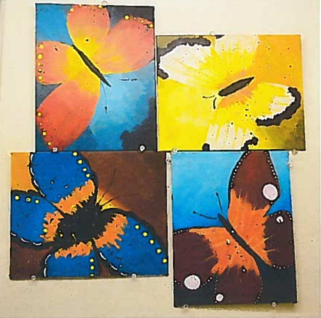 Dance of the Butterflies - Acrylic Paint