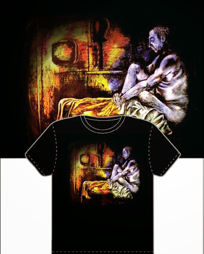 Contemplation - T-Shirt Design