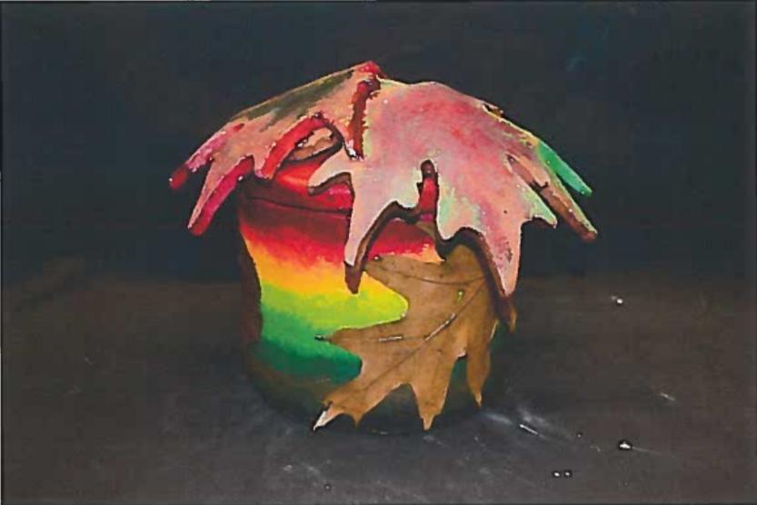 Autumn - Mixed Media Ceramics