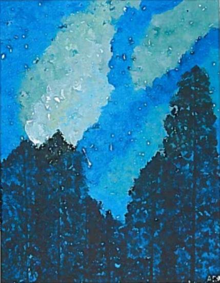 Mid-Summer Night - Acrylic Paint