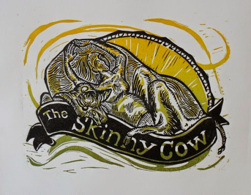 Skinny Cow - Relief Print