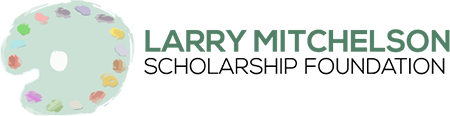 The Larry Mitchelson Fine Arts Scholarship Logo